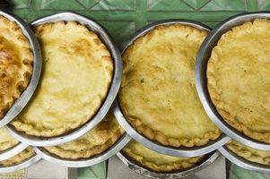 Sådan holder Pie Crust fra at blive alt for brun