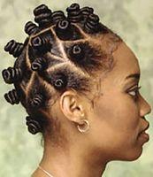 Sådan oprettes Bantu knob i hår