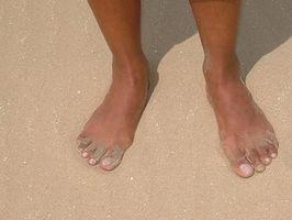 Sådan Stop ildelugtende fødder