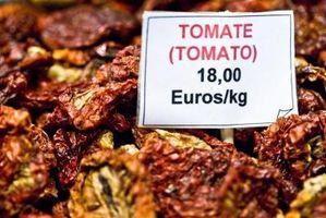 Hvor hen til opmagasinere og fryse soltørrede tomater