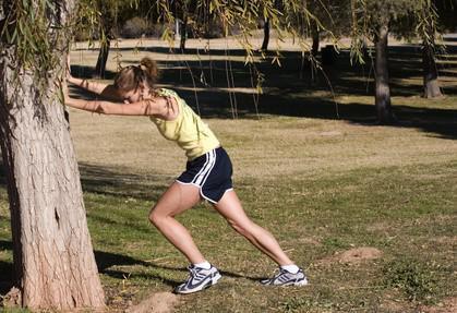 Sådan behandler ømme lægmuskler på grund af Jogging