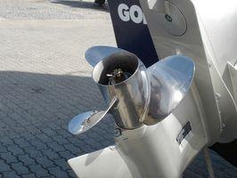 Om påhængsmotor propeller