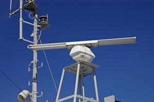 Hvordan man bruger Marine Radar til Storm Tracking
