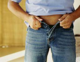 Hvad er forskellen mellem benet nedskæringer på mænds Jeans?