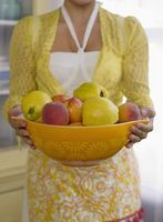 Sådan måler frugter & grøntsager af kop