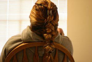 Flettet renæssance frisurer