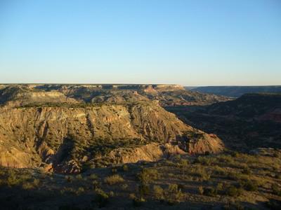 Klippeformationer i Texas Panhandle