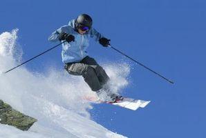 Forskellen mellem Twin Tip ski og regelmæssig ski