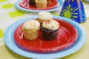Hvordan man kan bage creme-fyldt Cupcakes