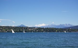 Søen Genève hoteller og vandlande