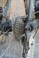 Cykel reparation Tutorial på skiftende bageste tandhjul tandhjul