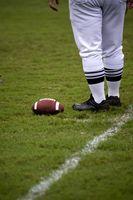 NFL regler for ud af Bounds & uret
