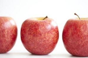 Sådan holder æbler fra Browning i et tørreskab