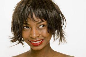 Runde ansigt frisurer for sorte kvinder