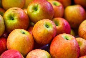 Fancy måde at skære æbler