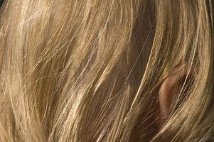 eddike i håret