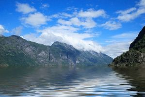 Norge krydstogter til fjordene