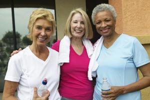 Hvad er bekymringerne med motion for kvinder, der er 40 eller ældre?