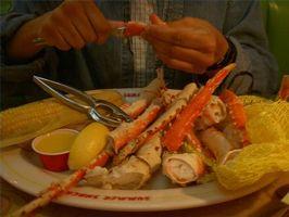 Hvor lang tid at koge Alaska konge Krabbe ben