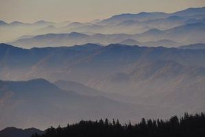Staten & nationale campingpladser nær Cherokee i North Carolina