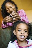 Hår sammensnoning rådgivning og produkter for afrikansk-amerikanske børn